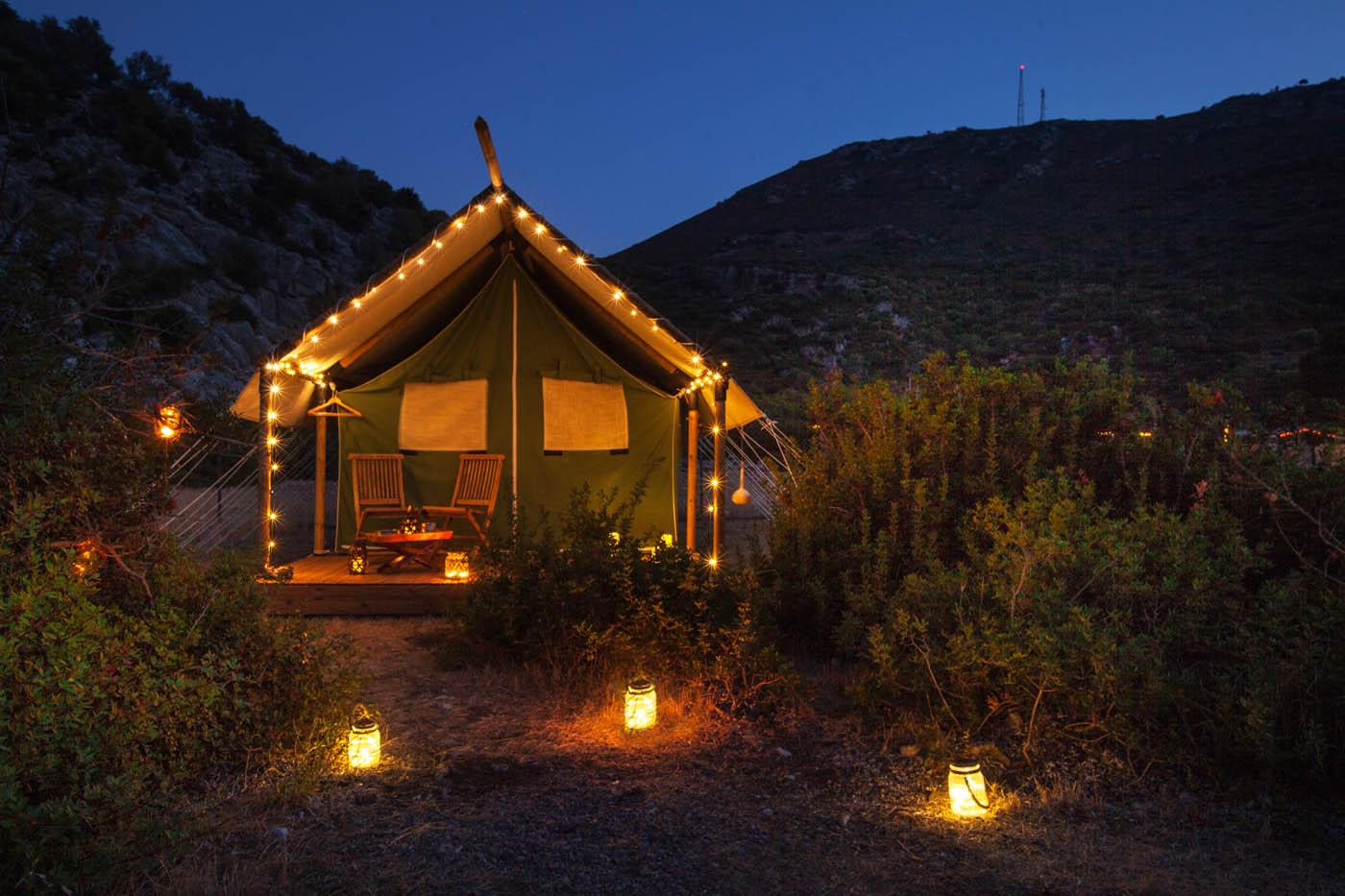 glamping lüks çadır