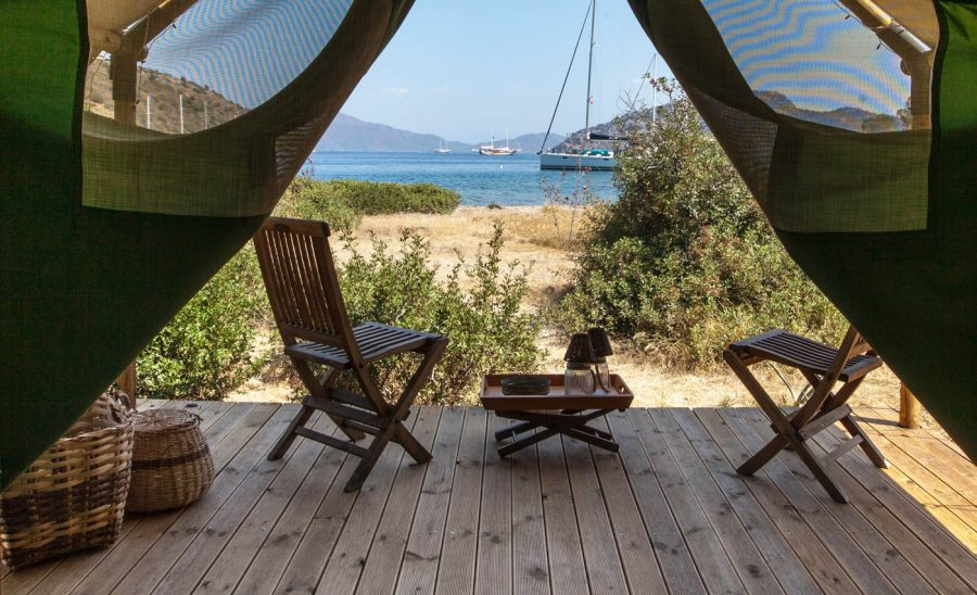 Glamping Luxury Tent